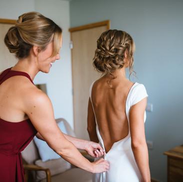 Wedding Dress Ideas | Surrey Bridal Hair and Makeup | Amanda White