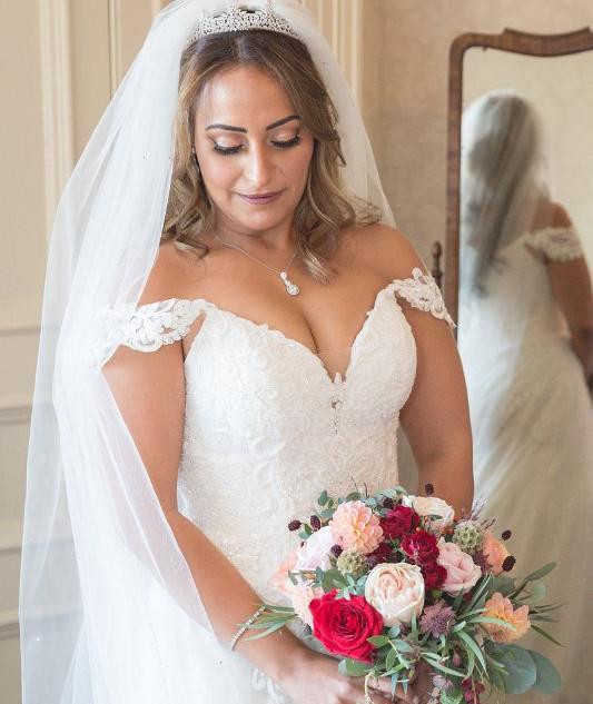 Beautiful Bridal Makeup | Professional Makeup Artist Surrey| Amanda White