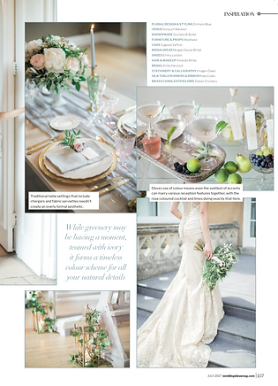 Amanda White Hair & Make Up Featured in Wedding Ideas Magazine