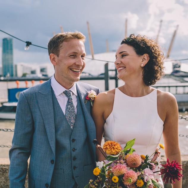 London Skyline Wedding | London Bridal Ideas | Amanda White