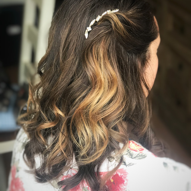 Hair Accessories For Brides to Be | Hair Styled by Amanda White Team