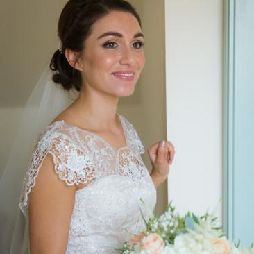 Glowing Bridal Makeup | Amanda White Hair and Makeup Services