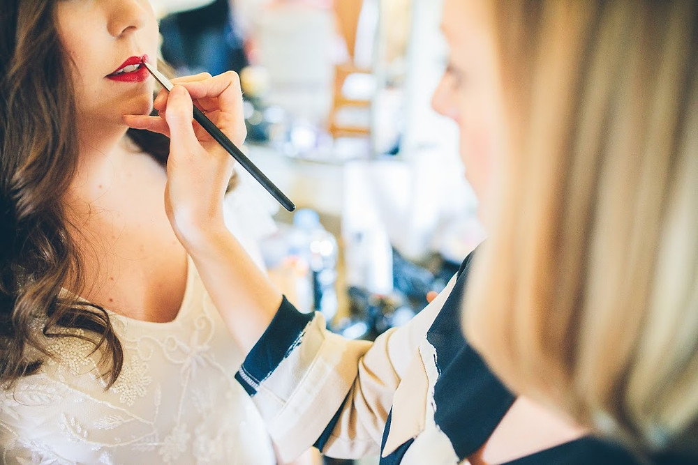 Makeup Application for Weddings | Professional Makeup Artist Amanda White gives her tips.