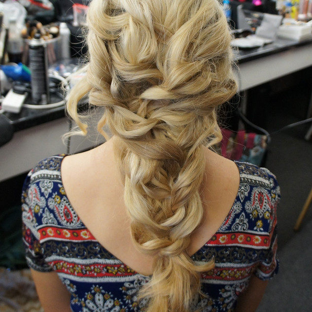 Waterfall Hairstyles | Textured Hair for your Wedding| Amanda White