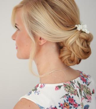 Glamourous Boho Bridal Hair and Makeup | Hertfordshire Wedding Makeup Artist | Amanda White
