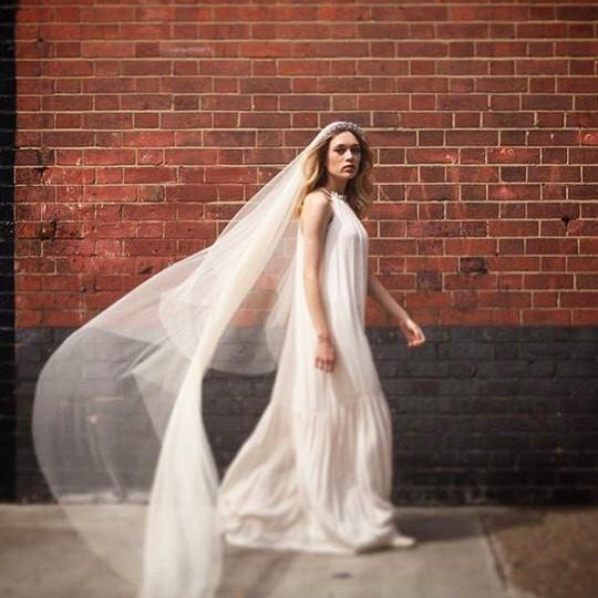 Bridal Veil In Hair Ideas | Surrey Wedding Hairstylists | Amanda White