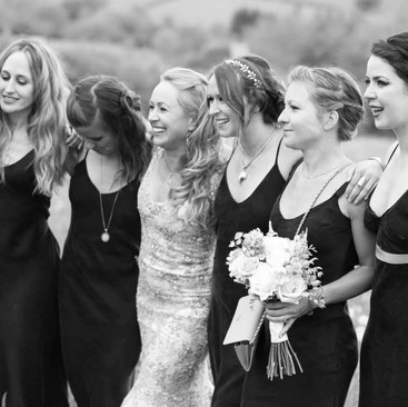 Bridesmaids Hair Up ideas | Hairstylist Amanda White and Team.