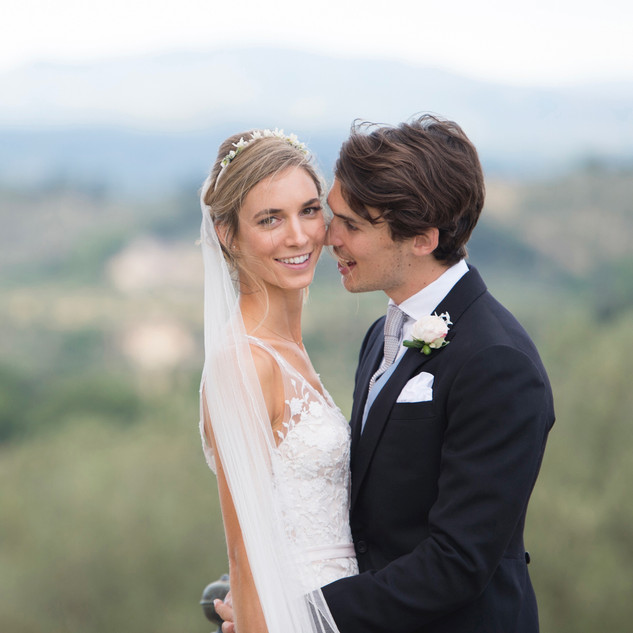 Italian Wedding Hair and Makeup | Amanda White Hair and Makeup Services.