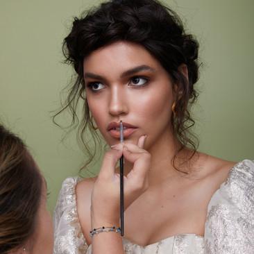 Glamourous Boho Bridal Hair and Makeup | Berkshire Wedding Makeup Artist | Amanda White