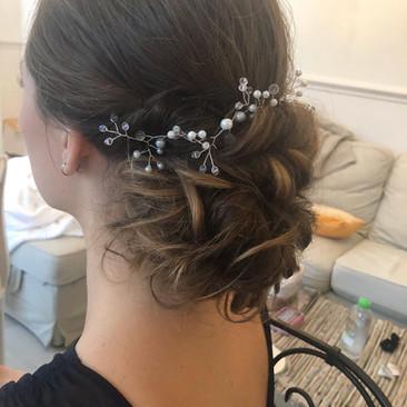 Half- Up Hairstyles for Your Wedding Day | Hertfordshire Hairstylist | Amanda White