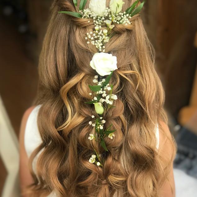 Wedding Hair Down Hairstyles | Kent Hairstylist | Amanda White