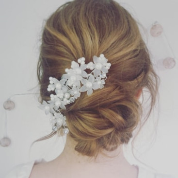 Relaxed Boho Hairstyling for Brides to Be | Wedding Hairstyling Team based in Kent | Amanda White