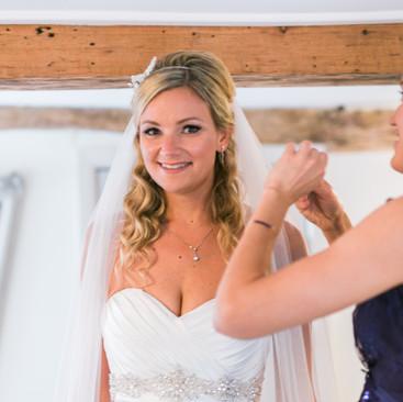 Half-Up Bridal Hairstyles | Amanda White Hair and Makeup Artist