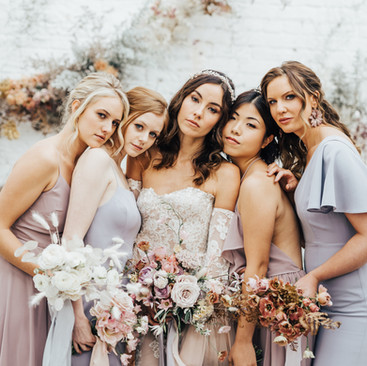 Bridal Squad | Bridesmaids Style Ideas | Amanda White Hair and Makeup Artist