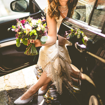 Floral Wedding Hair Ideas | Amanda White Hairstyling Services