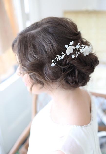 Low Key Bridal Hairstyle Ideas | Surrey Wedding Hairstylist Team| Amanda White