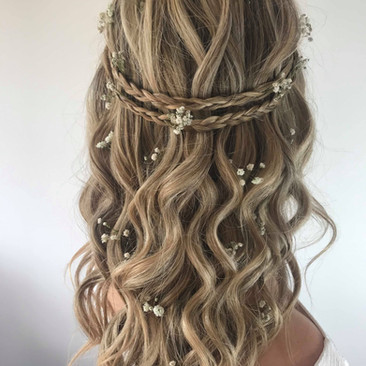Relaxed Boho Hairstyling for Brides to Be | Wedding Hairstyling Team based in Hertfordshire | Amanda White