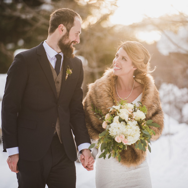 Winter Wedding Ideas| Bridal Hair and Makeup For a Winter Wedding| Amanda White