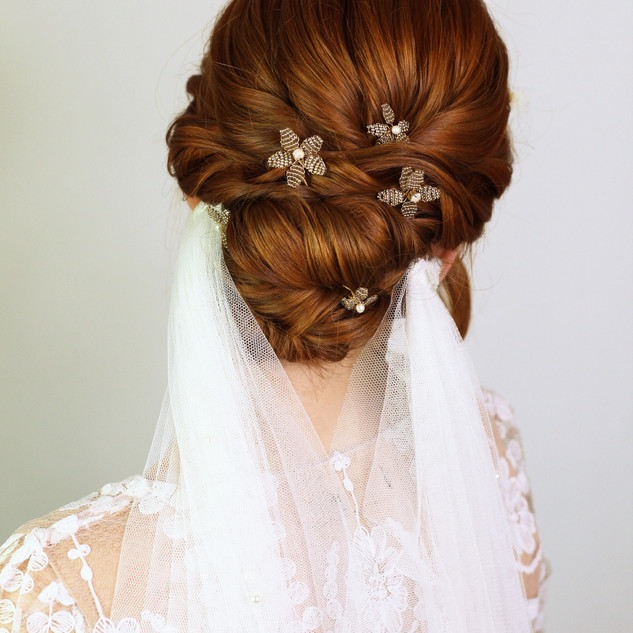 Twisted Textured Hairstyle | London Bridal Hairstylist | Amanda White and Team.