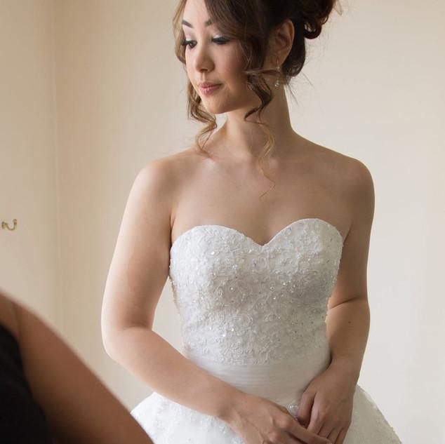 Glamourous Hairstyling for Weddings | Surrey Hairstylist Amanda White.