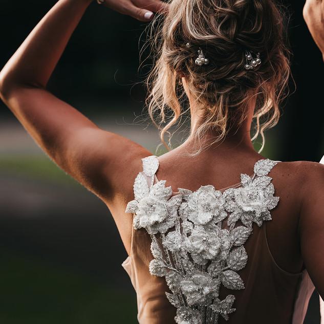 Stylish Bridal Makeup and Hair for Your Wedding Day | Amanda White