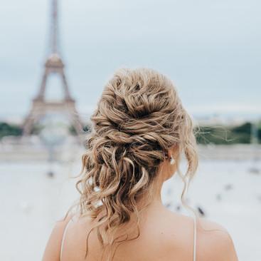 French Hairstyle Ideas | Paris Wedding| Destination Wedding | Amanda White
