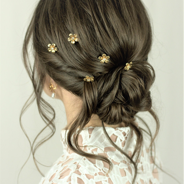 Twisted Textured Hairstyle | Hertfordshire Bridal Hairstylist | Amanda White and Team.