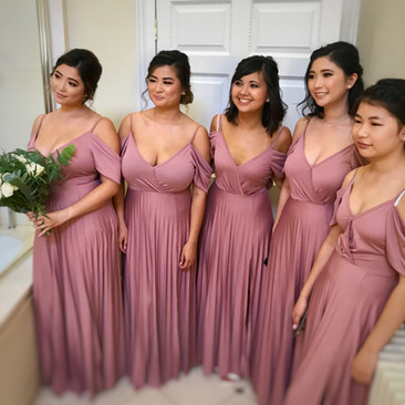 Bridesmaid Beauty | Wedding Makeup Artist Team| Amanda White