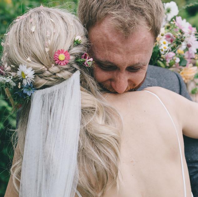 Flower Hairstyle Ideas | Boho Weddings | Amanda White