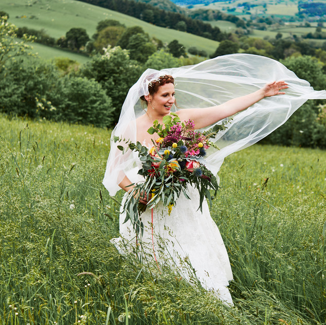 Countryside Wedding Hairstyle Ideas | Amanda White
