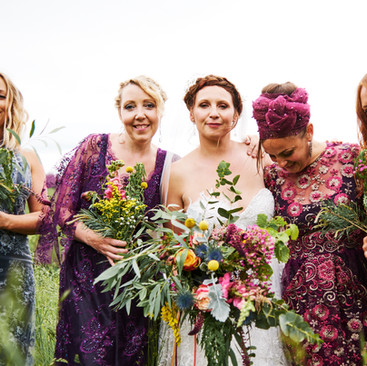 Wild Flower Wedding Ideas | Amanda White