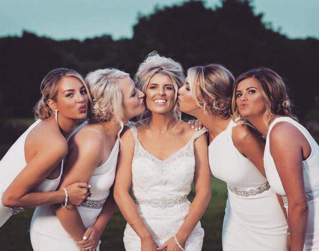 Bride Squad Hair and Makeup | Hair and Makeup Team| Amanda White