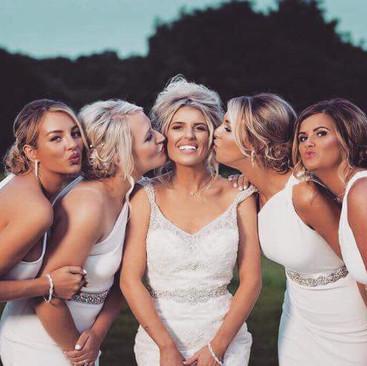 Bride Squad Hair and Makeup | Hair and Makeup Team| Amanda White