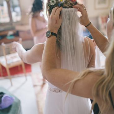 Veil hair ideas | Hairstylist Amanda White and Team.