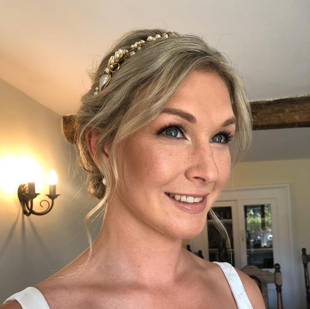 Bridal Up-style for your Wedding Day | London Wedding Hairstylist | Amanda White
