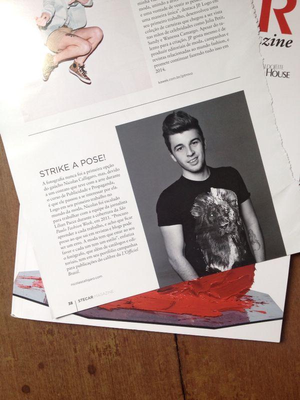 entrevista Stecar Magazine