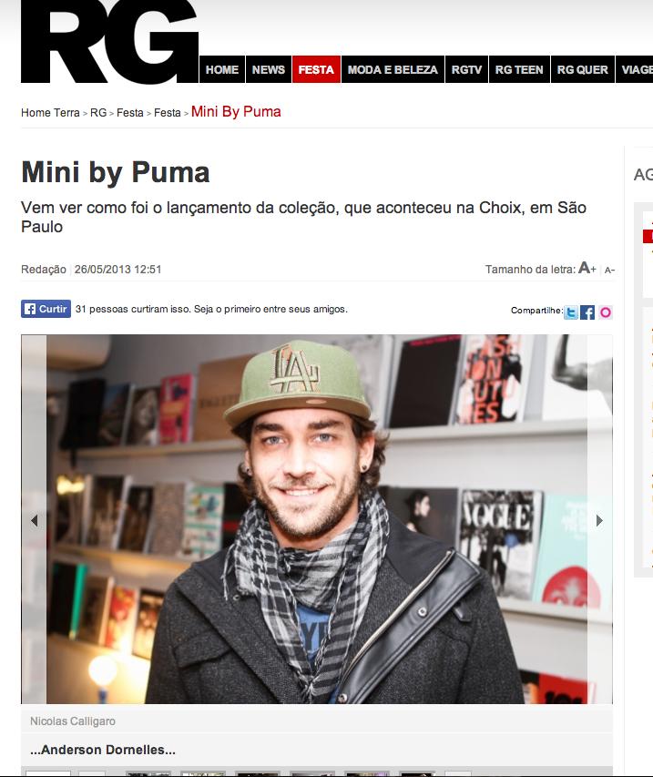 Puma + mini no RG vogue