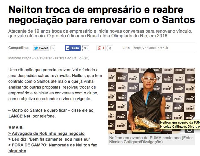 material divulgação Neilson - Puma