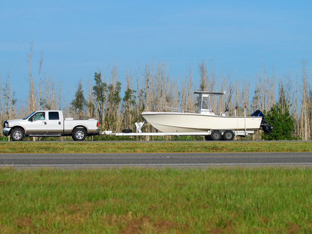 How to tow your trailer and boat correctly to avoid personal injury accidents