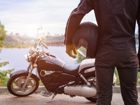 Motorcycle airbag vests and jackets can be life savers