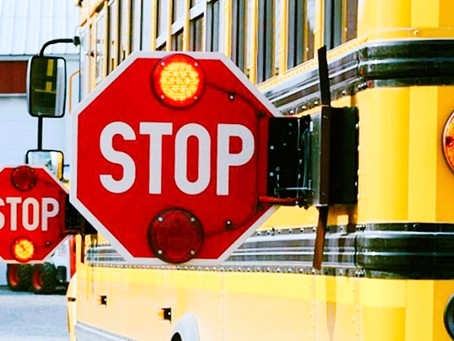 Common causes of school bus accidents