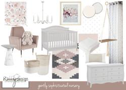 gently sophisticated nursery