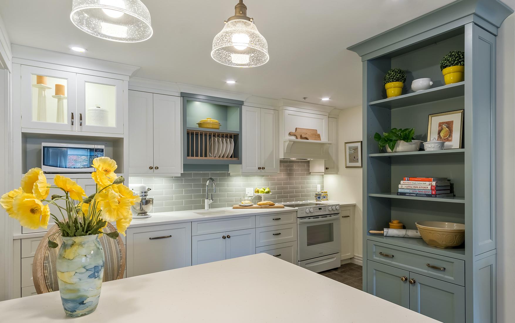 Customized Condo  Kitchen