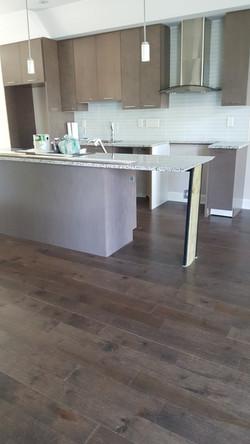 hardwood install