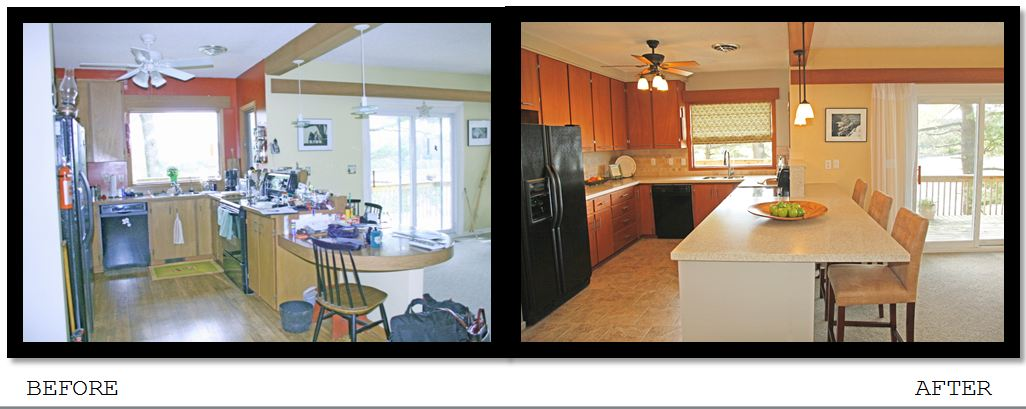 Before and After Home Staging