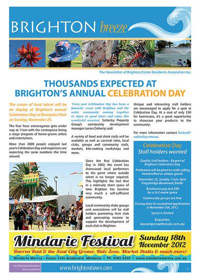 Brighton Newsletter