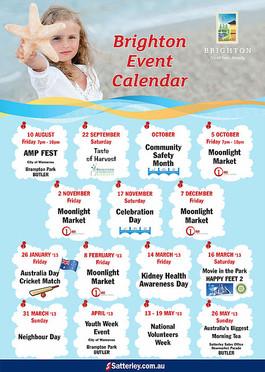 Brighton Event Calendar