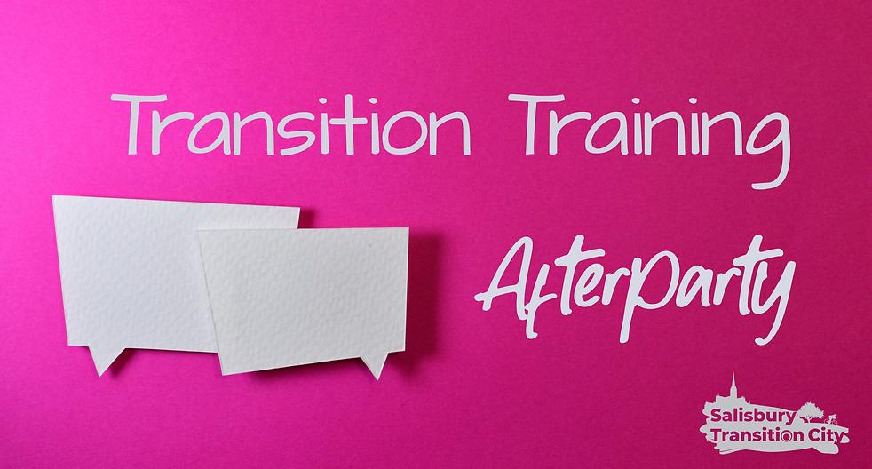 Facebook Group headerr for Transition tr