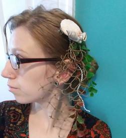 DIY Mermaid Hair Accessories