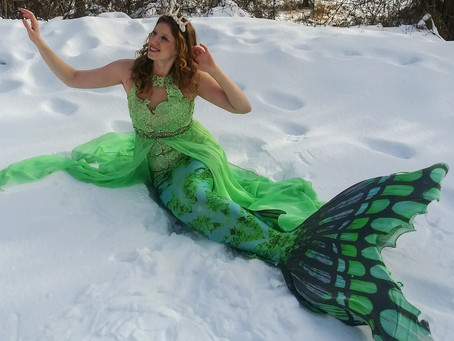 How To Be  A Mermaid During Winter